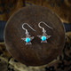 Turquoise & Silver Thunderbird Earrings / Necklace (Sterling Silver)