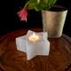 Selenite Star Tea Light Holder