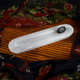 Polished Selenite Charging Bar with Groove