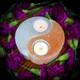 Selenite Yin Yang Tea Light Holder