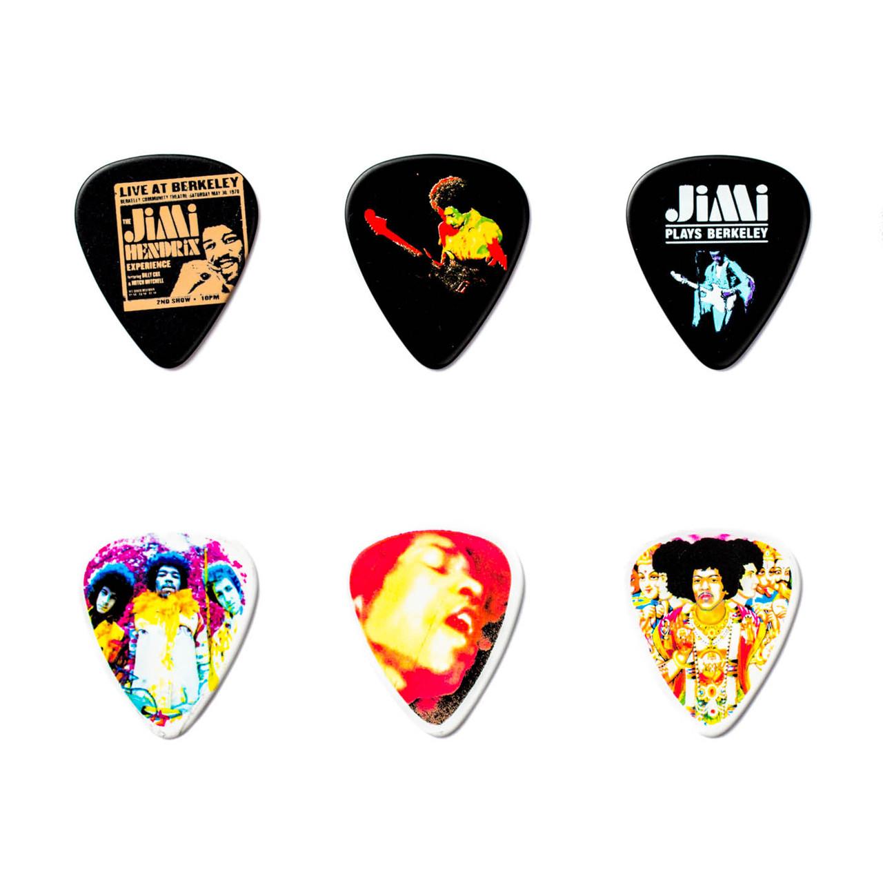 Dunlop Jimi Hendrix Pick Tin Axis Bold As Love