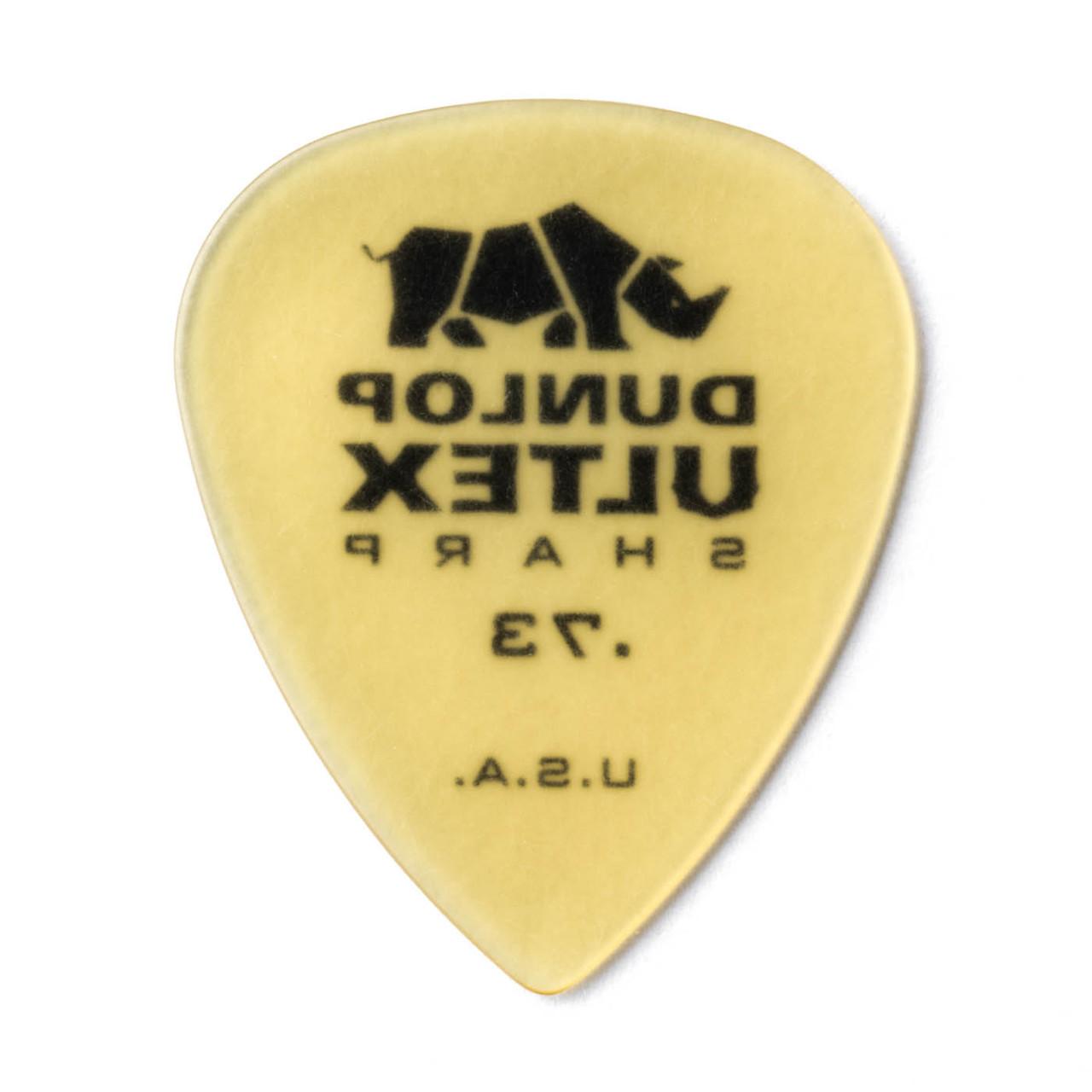 6-Pack of Dunlop Ultex Sharp Picks .73 mm