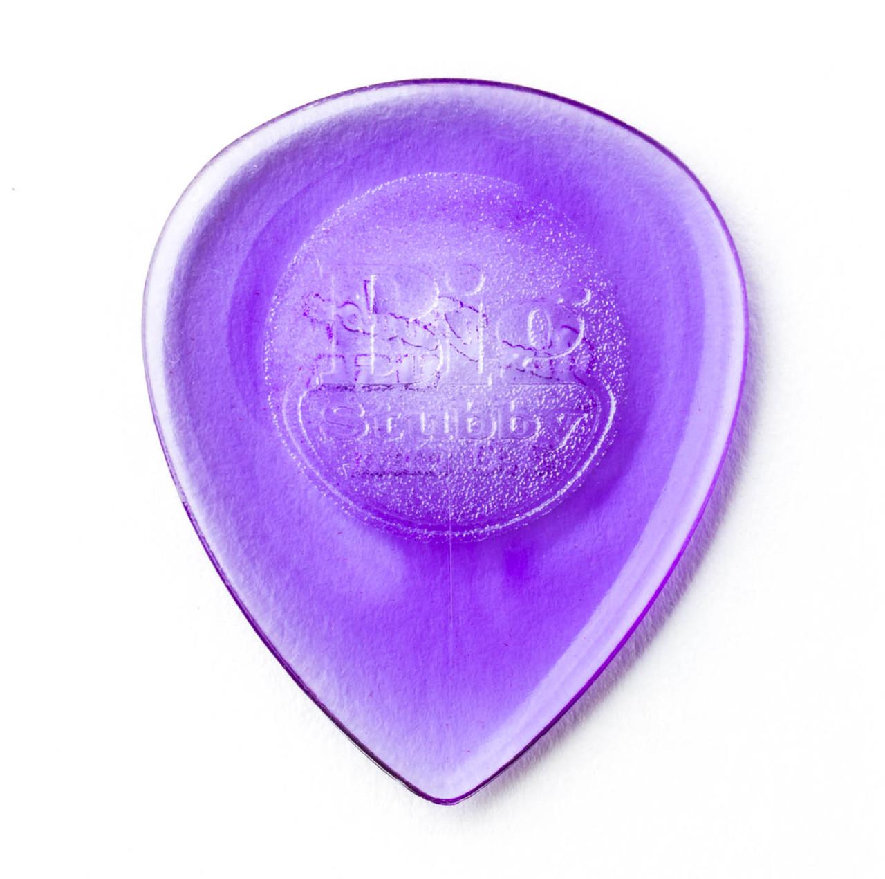 Dunlop Tri Stubby Picks 2.00 mm Player/'s Pack light purple 6 pcs.