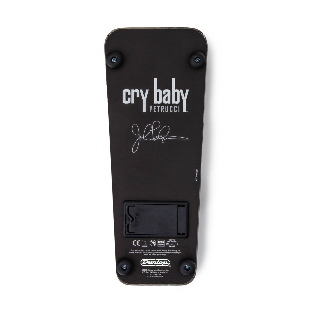 Dunlop JP95 John Petrucci Signature Cry Baby Wah Pedal CryBaby Rack in a Box