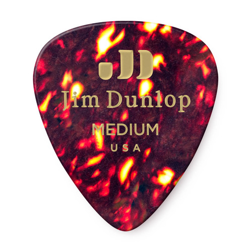 Dunlop 483P11 Heavy Celluloid Pick 12-Pack