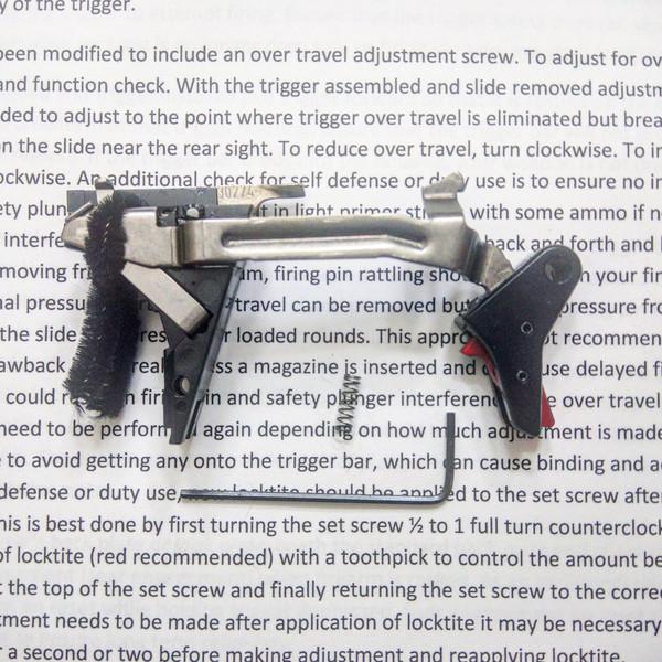 Glock Aluminum Drop-in Trigger