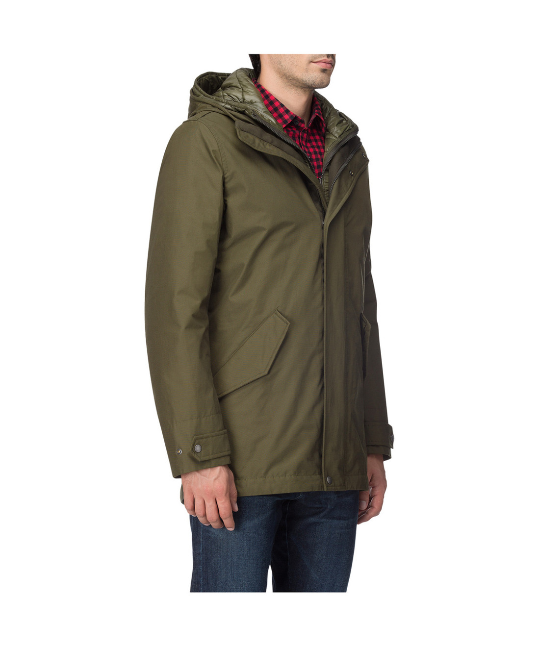 e28d54d3692 Men's Long Military Parka - John Rich & Bros. (WO1079)