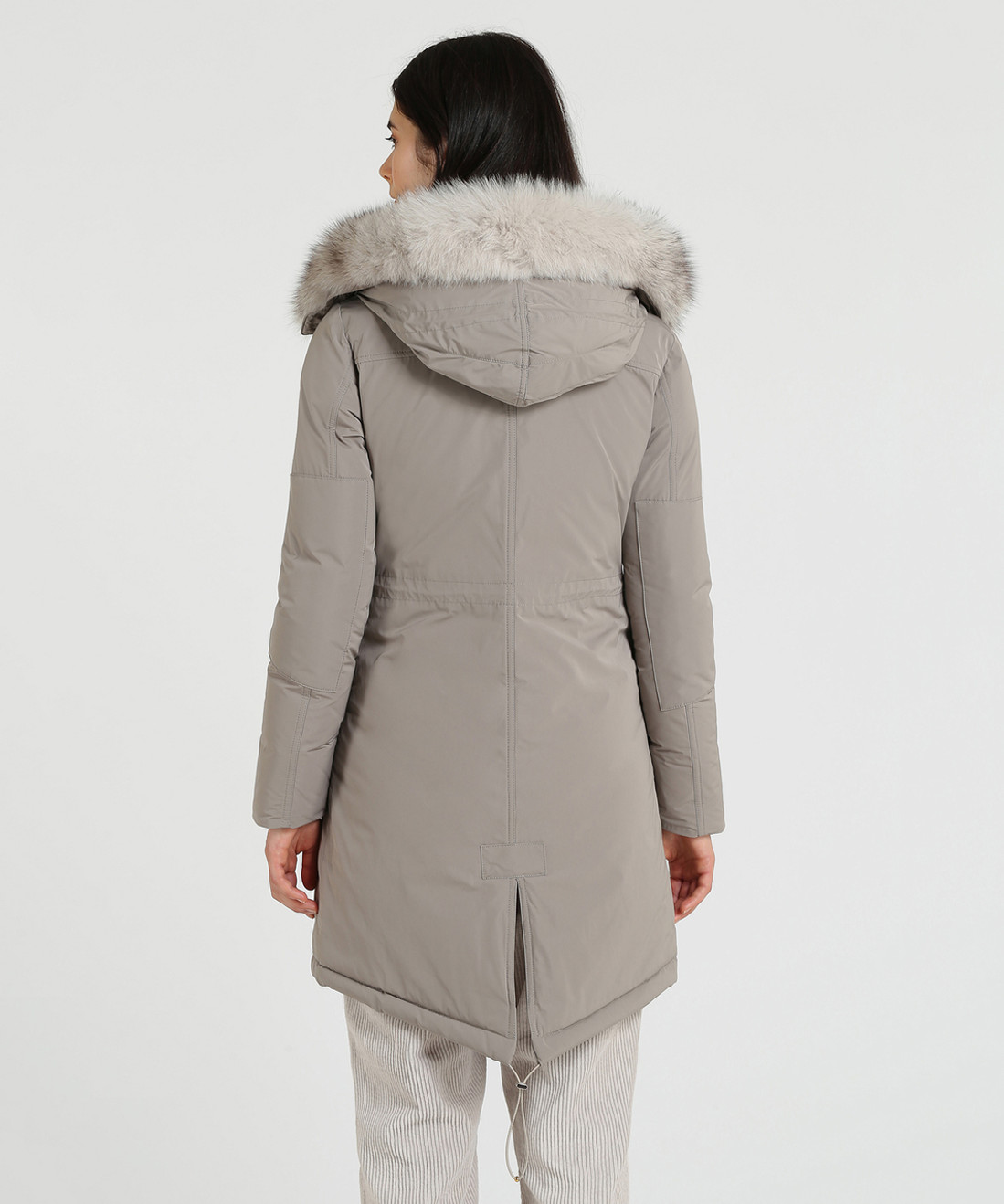 Women's Military Down Parka Fox - John Rich & Bros.