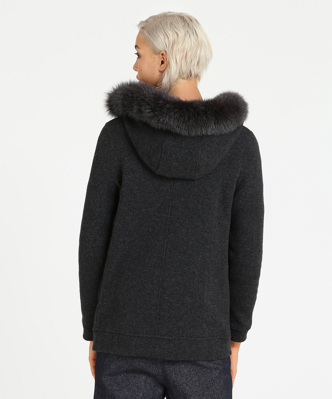 Women's Wool Cotton Hoodie - John Rich & Bros.