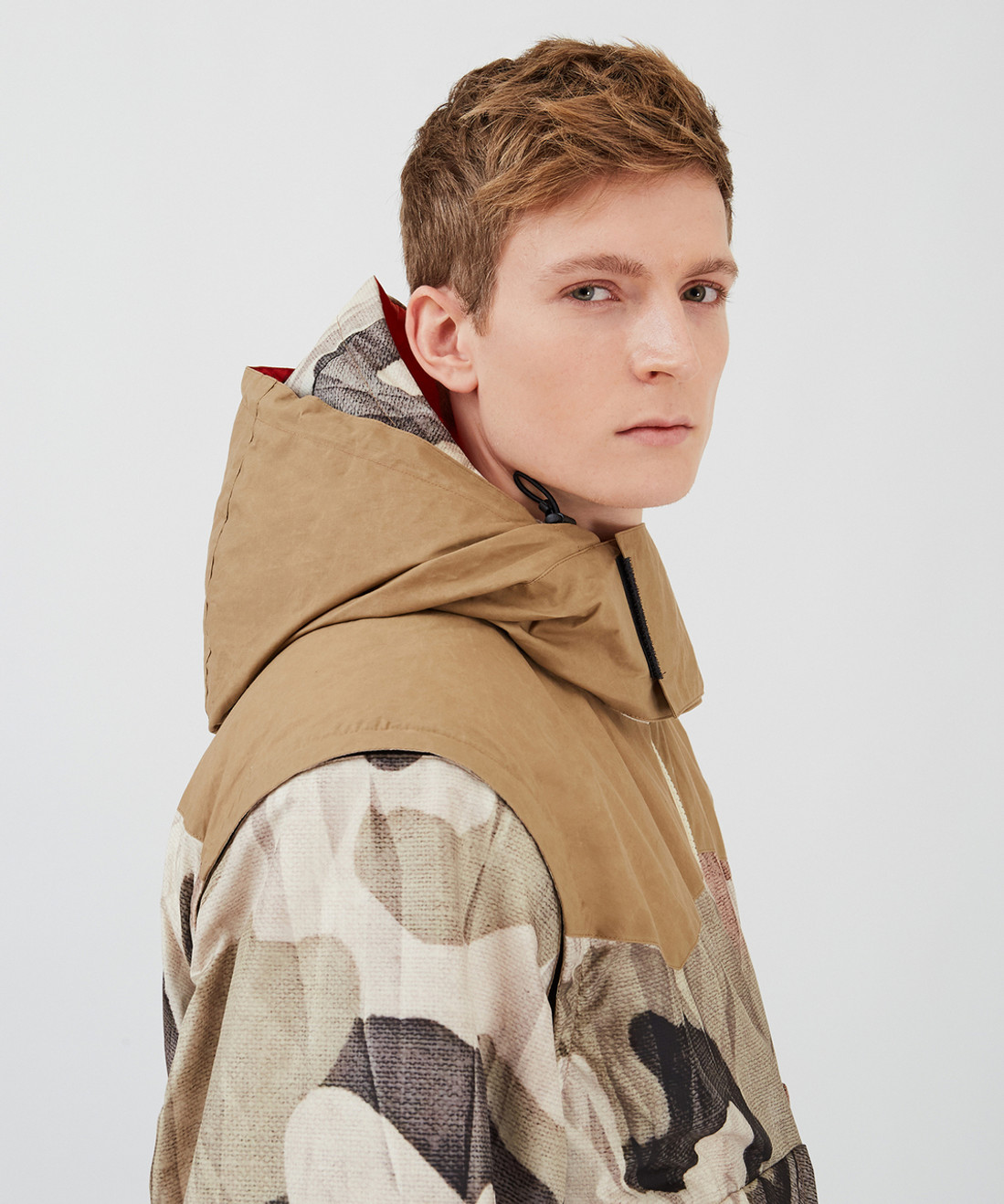 Light Weight Down Print Jacket- Griffin x Woolrich