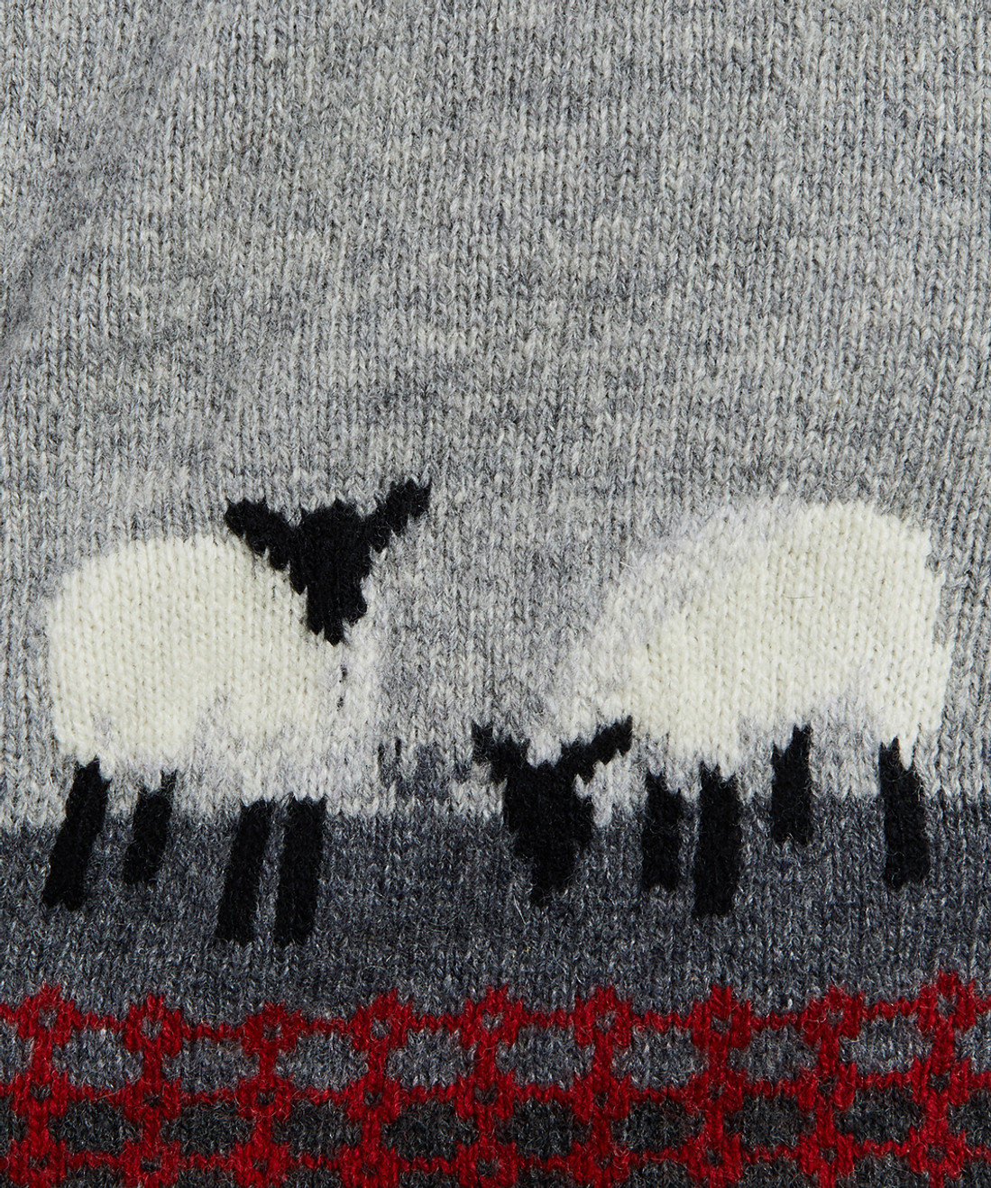 Women's Grazing Sheep Lambswool Sweater Vest