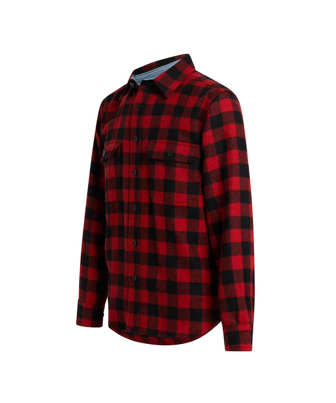 49e0579f Men's Buffalo Check Wool Shirt - Woolrich