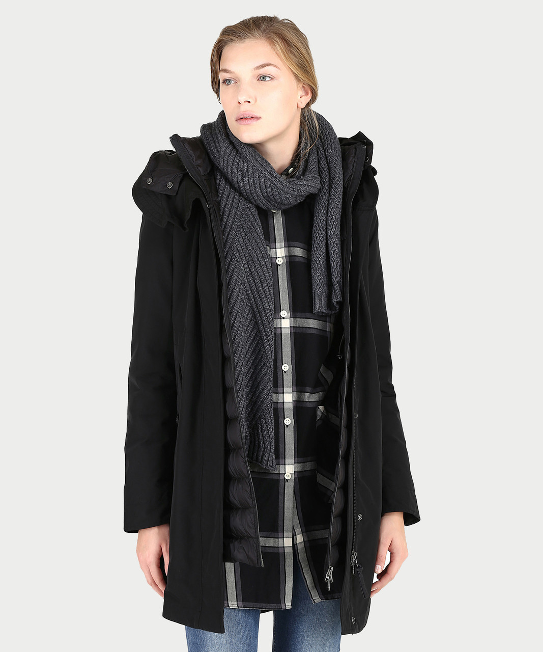 010027c7d60 Women s Long Military Parka - John Rich   Bros. - Woolrich