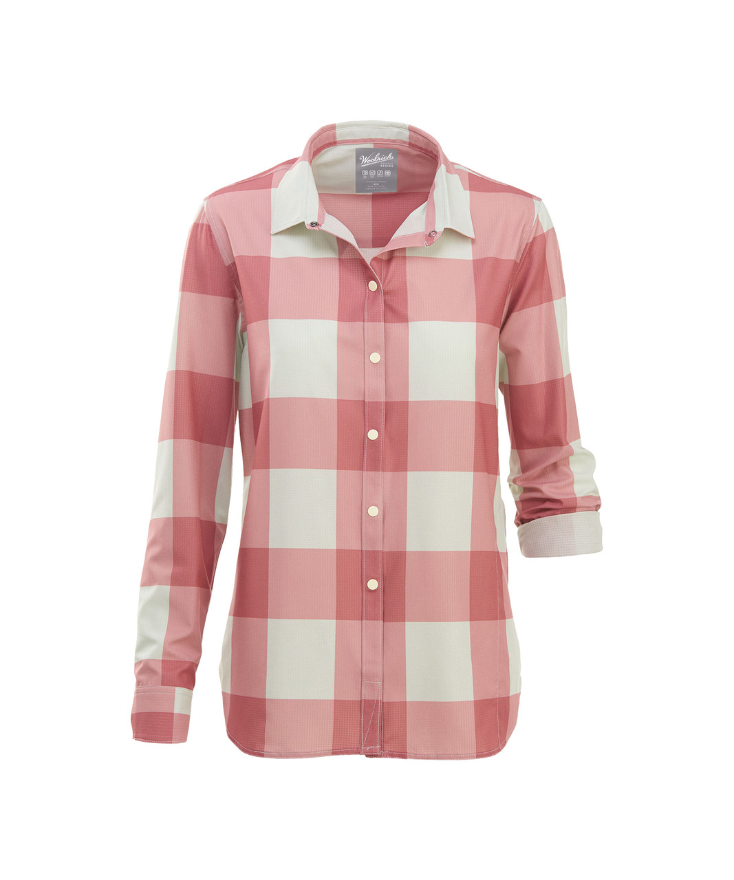 Woolrich Womens Over Out Stretch Ripstop Shirt
