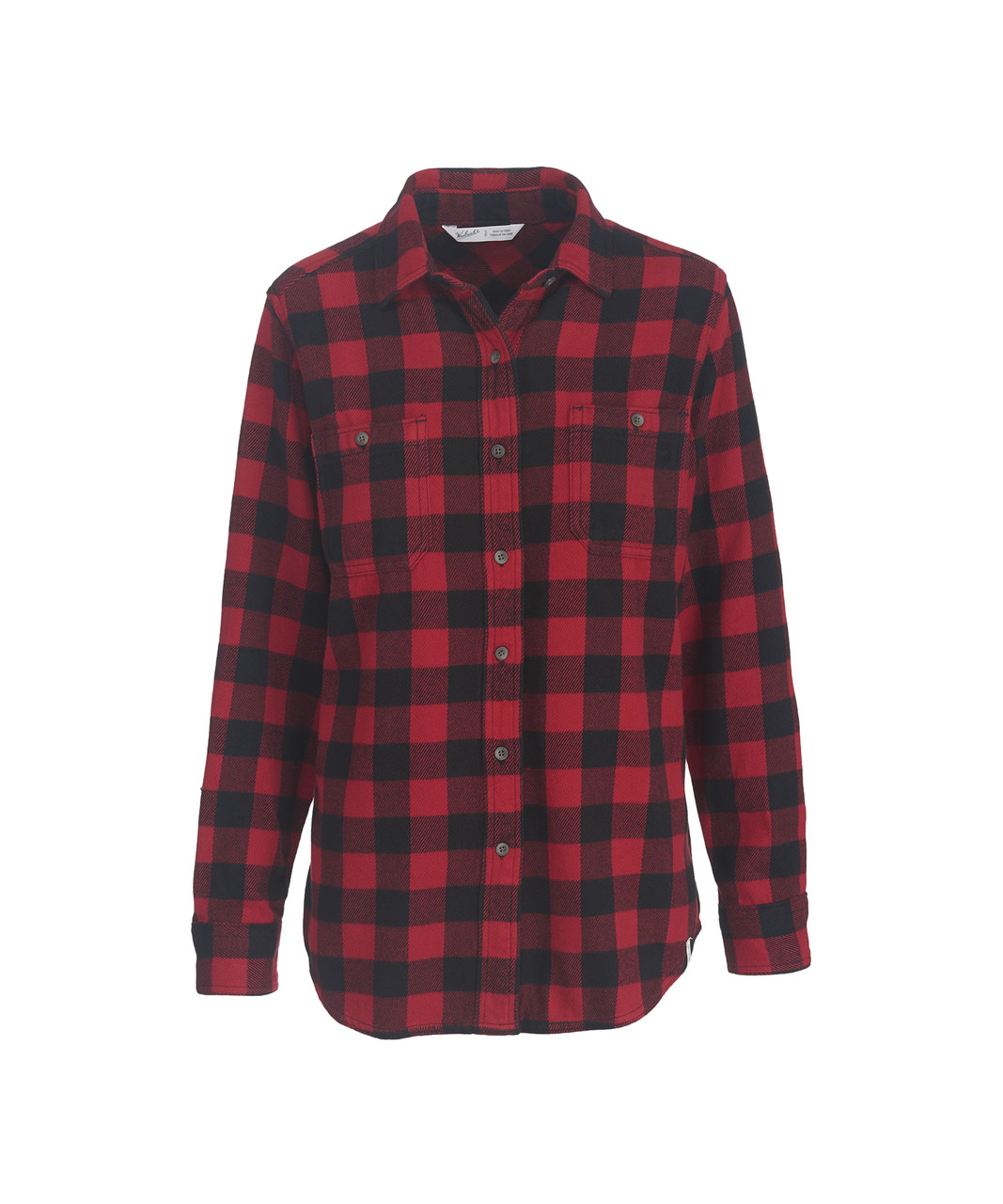 Women s Buffalo Check Flannel Shirt - Woolrich 144d1937215