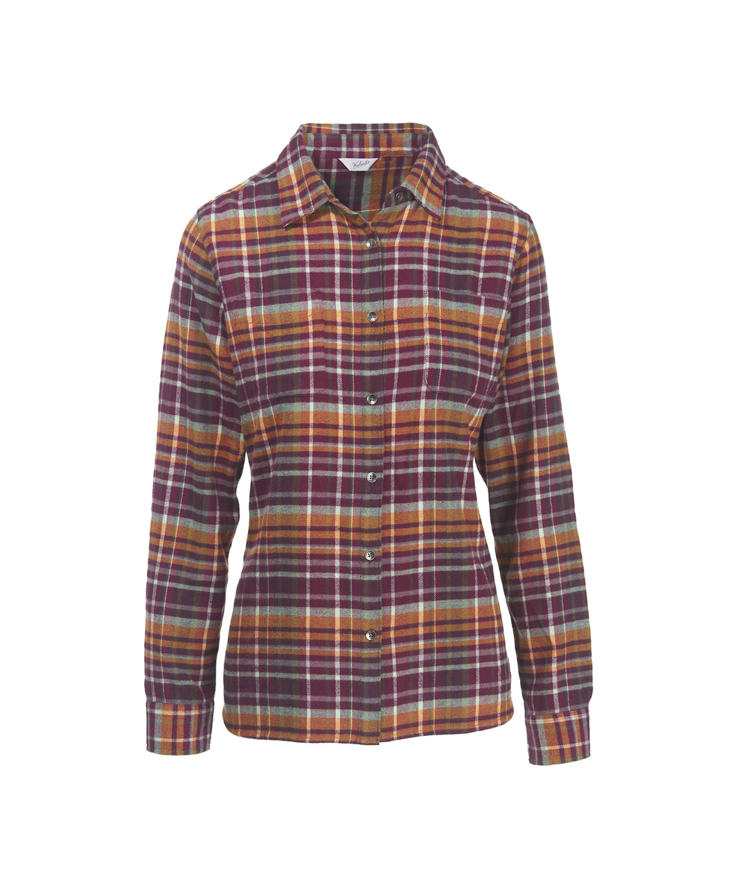 64334fa70 Women's Pemberton Flannel Shirt - 100% Cotton - Woolrich