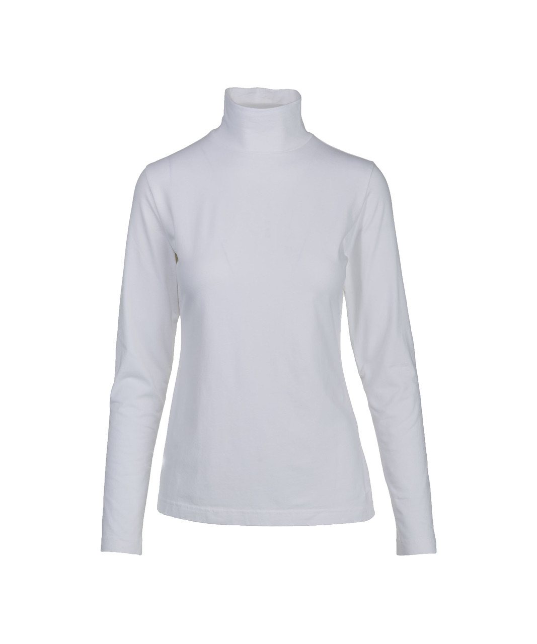 6333fb4d6e9 Women s Laureldale High Mock Turtleneck. 7004 model WHITE