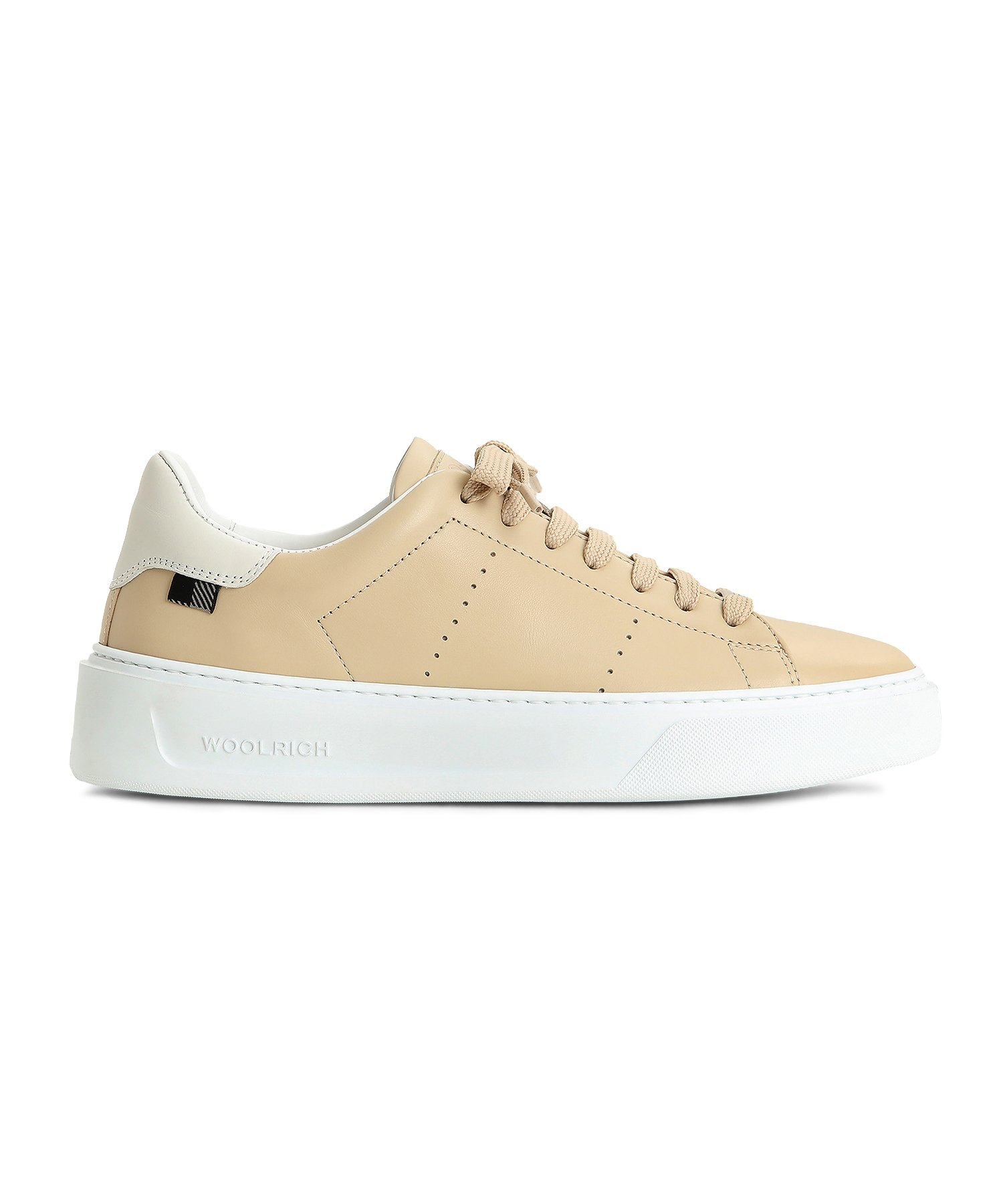 Woolrich CALF LEATHER CLASSIC COURT SNEAKERS