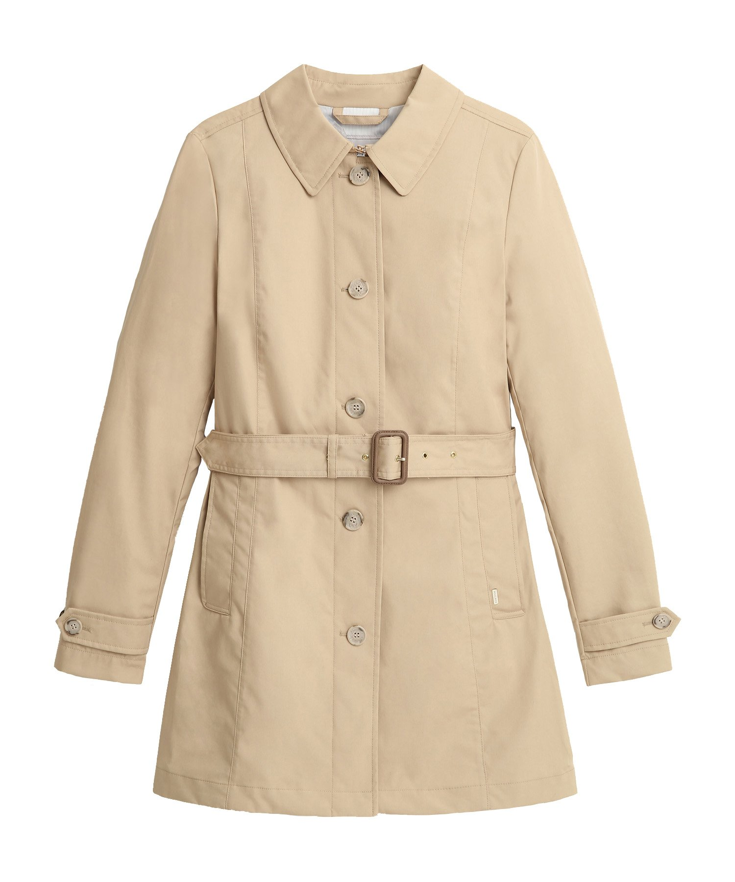 Woolrich Cottons JESSAMINE BELTED TRENCH COAT