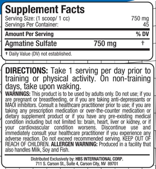 Allmax Agmatine Sulfate Powder