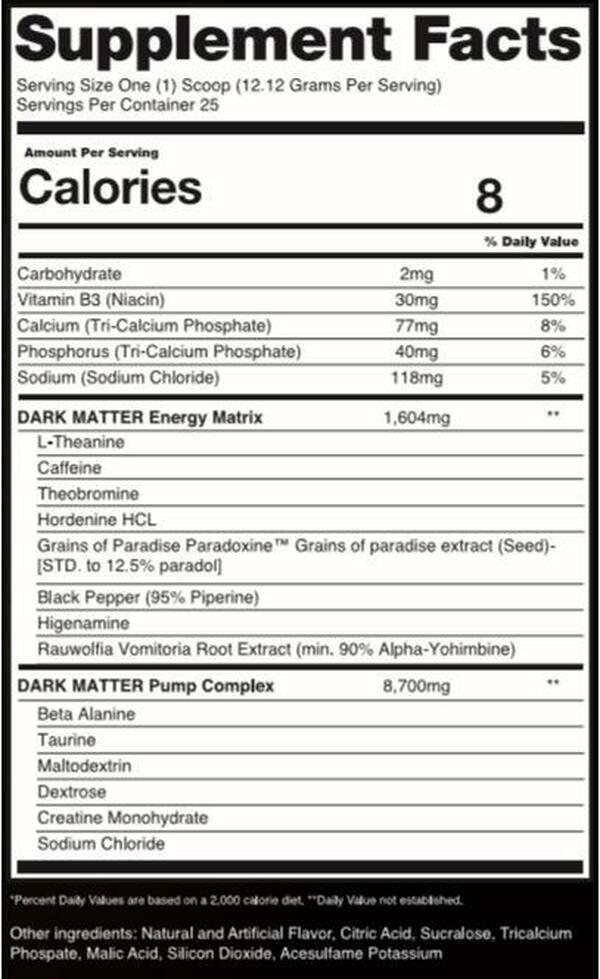 Alchemy Labs - Smoked Pre Workout