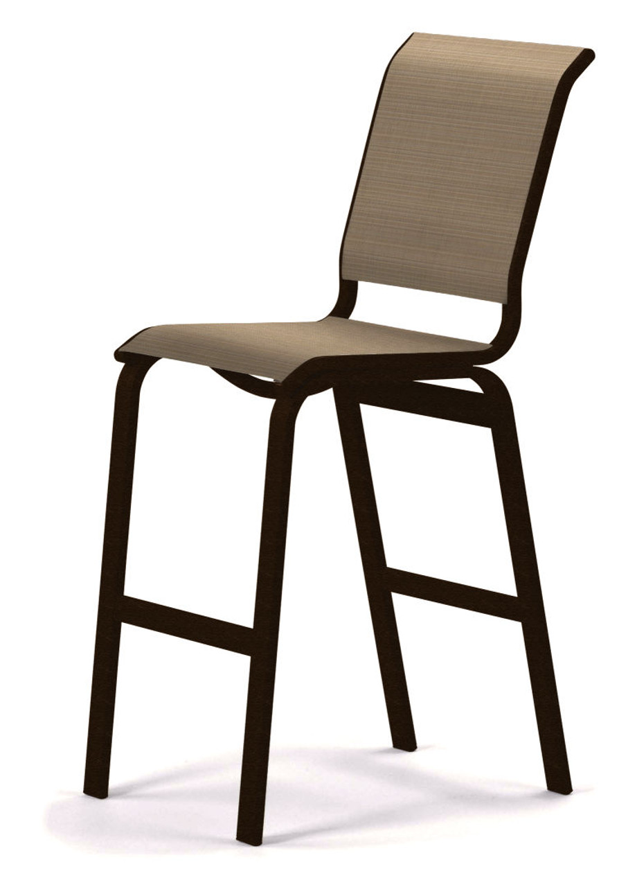 Telescope Casual Aruba Sling Bar Height Armless Cafe Chair