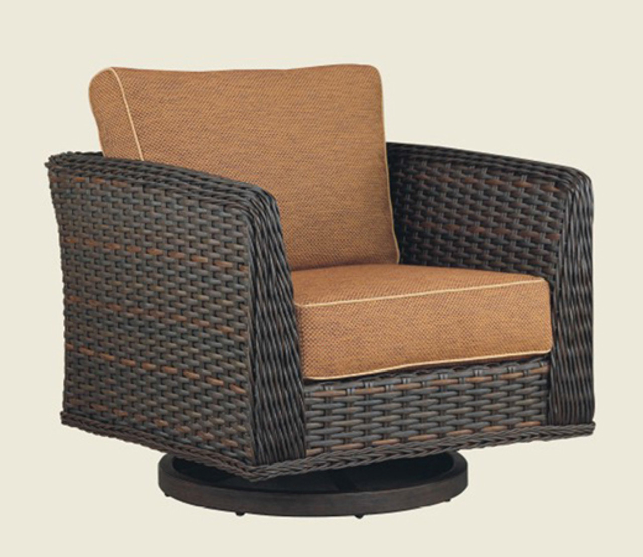 Admirable Patio Renaissance Catalina Collection Deep Seating Swivel Glider Unemploymentrelief Wooden Chair Designs For Living Room Unemploymentrelieforg
