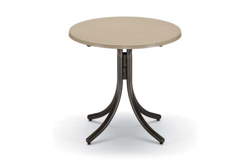 "Telescope Casual Werzalit 30"" Round Dining Table without hole"