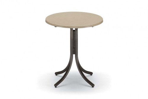 """Telescope Casual Werzalit 30"""" Round Bar Height Table without hole"""