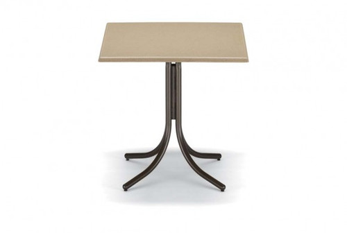 """Telescope Casual Werzalit 36"""" Square Bar Height Table with hole"""
