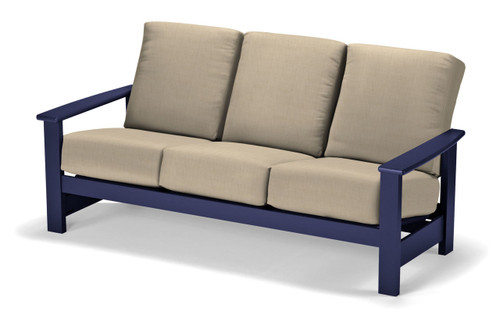 Telescope Casual Leeward MGP Cushion Three-Seat Sofa
