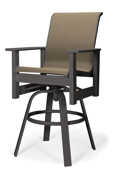 Telescope Casual Leeward MGP Sling Bar Height Swivel Arm Chair