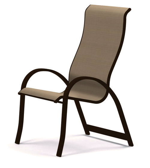 Telescope Casual Aruba Sling, Supreme Stacking Arm Chair
