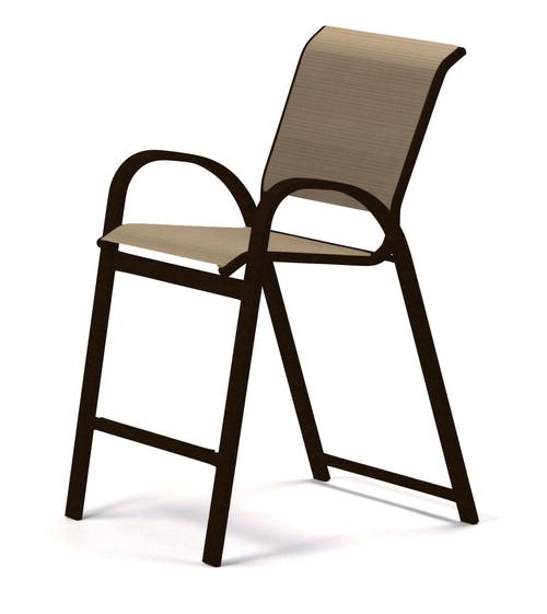 Telescope Casual Aruba Sling, Balcony Height Stacking Cafe Chair