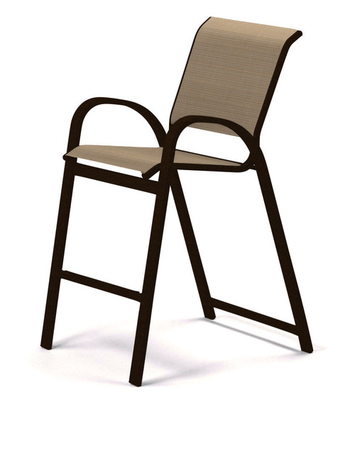 Telescope Casual Aruba Sling, Bar Height Stacking Cafe Chair