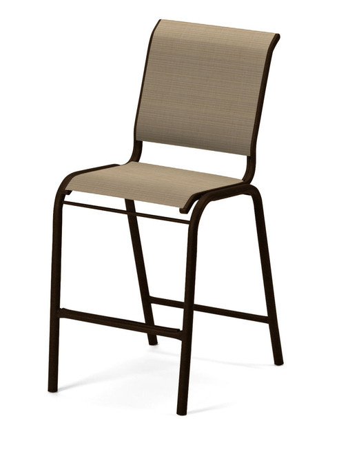 Telescope Casual Reliance Contract Balcony Sling Stacking Armless Chair
