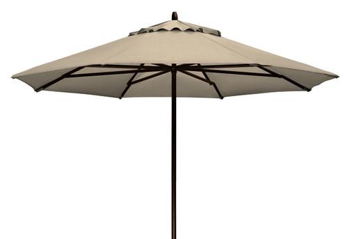 Telescope Casual 9' Commercial Market Umbrella