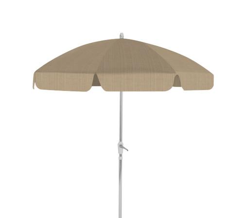 Telescope Casual 7.5' 8-Rib Drape Umbrella with Tilt