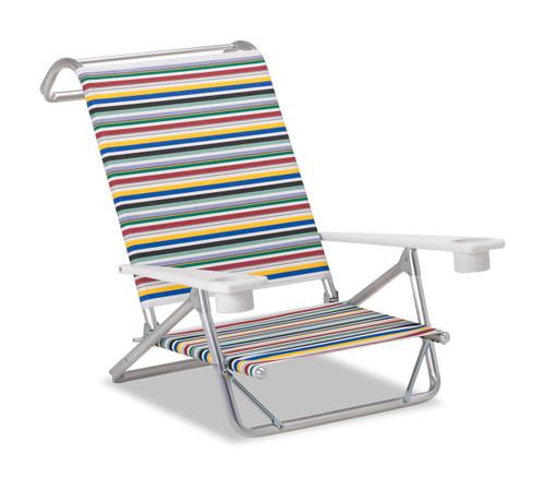Telescope Casual Beach and Pool, Original Mini-Sun Chaise w/ MGP arms w/ cup holders