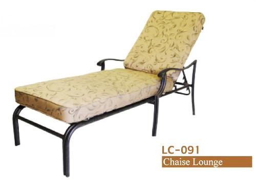 DWL Garden Ivyland Chaise Lounge