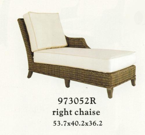 Patio Renaissance Monticello Collection Right Chaise