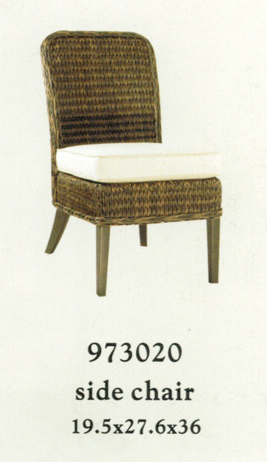Patio Renaissance Monticello Collection Side Chair