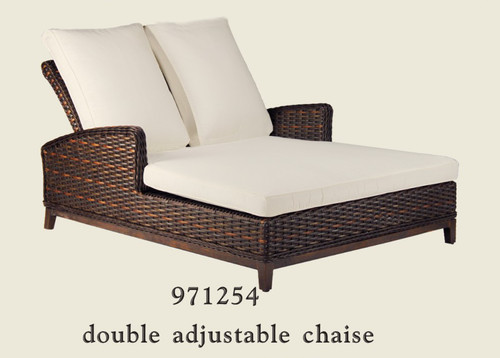 Patio Renaissance Catalina Collection Double Adjustable Chaise
