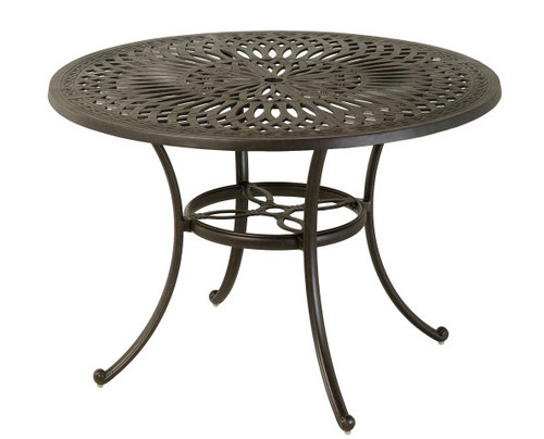 """Hanamint Table, Mayfair 48"""" Round Counter Height Table"""
