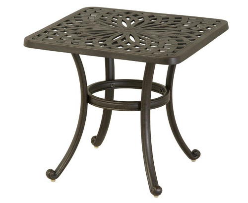 """Hanamint Table, Mayfair 24"""" Square End Table"""