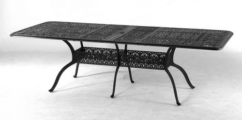 """Hanamint Tuscany 42""""x76"""" Rectangular Extension Table, Expands to 100"""""""