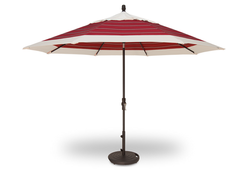 Treasure Garden Market Umbrellas, 11' Collar Tilt Umbrella SWV (Single Wind Vent)