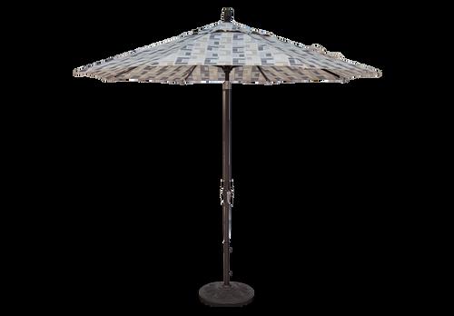 Treasure Garden Market Umbrellas, 9′ Collar Tilt Umbrella SWV (single wind vent)