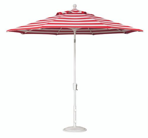 Treasure Garden Market Umbrellas, 9′ Push Button Tilt Umbrella SWV (Single Wind Vent)