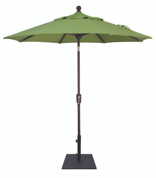 Treasure Garden Market Umbrellas, 7.5′ Push Button Tilt Umbrella